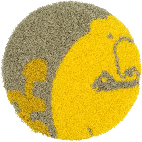 スミノエのチェアパッド サルモン(salmon)35×35cm【北欧/おしゃれ/鈴木マサル】の全体画像