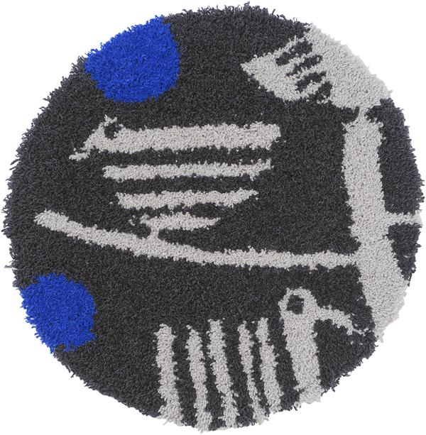 スミノエのチェアパッド トリノス(torinosu)35×35cm【北欧/おしゃれ/鈴木マサル】の全体画像