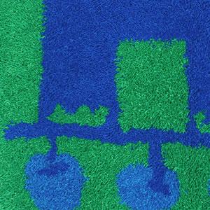 スミノエのラグマット リンゴノキ(lingonoki)90×90cm【円形/おしゃれ/鈴木マサル】の詳細画像