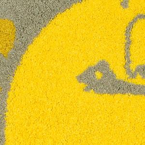 スミノエのラグマット サルモン(salmon)90×90cm【円形/おしゃれ/鈴木マサル】の詳細画像