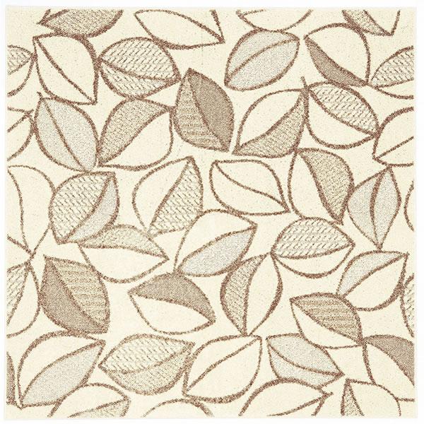 スミノエのラグマット カラープランツ(COLOR PLANTS)【おしゃれ/通年】アイボリーの全体画像