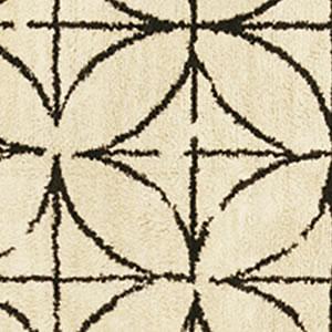 スミノエのラグマット キトカ【おしゃれ/北欧インテリア】アイボリーの詳細画像