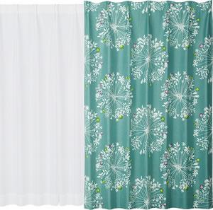 スミノエの遮光カーテン クッカ(KUKKA)1枚入【おしゃれ】ブルーグリーンの使用画像