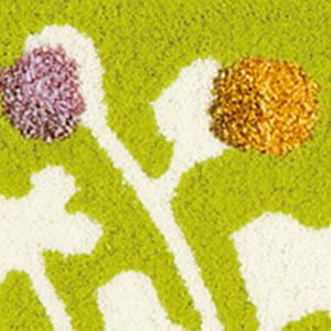 スミノエの玄関マット KUKKA(クッカ)【北欧風インテリア/おしゃれ】イエローの詳細画像