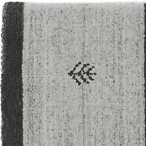 スミノエの玄関マット NOM101 45×75cm【ギャベ/おしゃれ】ブラウンの詳細画像