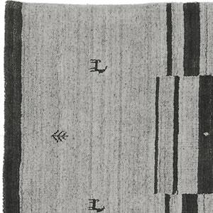 スミノエのラグマット NOM101 70×120cm【ギャベ/おしゃれ】ブラウンの詳細画像
