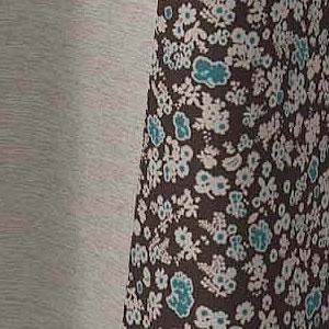 バックプリント 遮光カーテン シフレ(SIFFLET)1枚入【北欧/おしゃれ】ベージュの詳細画像