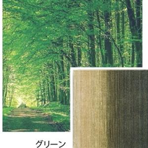 ラグマット リュイール(LUIRE)【通年/おしゃれ/インテリア】グリーンの説明画像