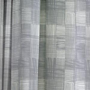 スミノエの既製カーテン イヴァナヘルシンキ ピエニルールッカ 1枚入【おしゃれ/北欧カーテン】グレーの詳細画像