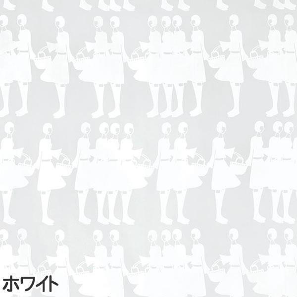 イヴァナ ヘルシンキ(Ivana Helsinki)レースカーテン ティットケルホ ボイル(Tyttokerho voile)1枚入【おしゃれ/北欧カーテン】ホワイトの詳細画像