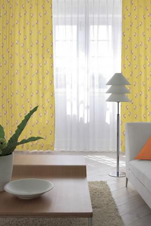 スミノエの遮光カーテン ブーケ使用画像