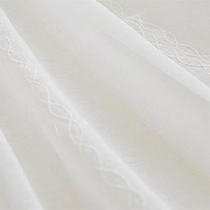 スミノエのレースカーテン コルネ カーヴ(Curve)1枚入【おしゃれ/洗濯】全体画像