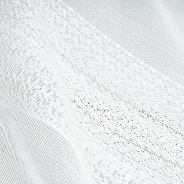 スミノエのミラーレースカーテン コルネ フルーヴ(Fleuve)1枚入【抗ウィルス/おしゃれ/洗濯】の生地画像