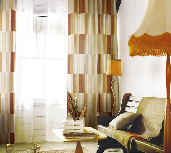 スミノエの既製カーテン コルネ ウィーヴ2(Weave2)1枚入【おしゃれ/洗濯】ベージュの使用画像