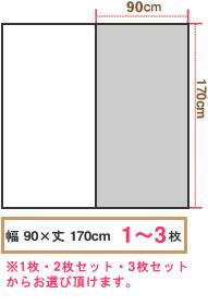 各サイズから大きさを表す簡易イメージ画像