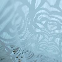 ファニーストリングカーテン ローズ(ROSE)95×176cm【パネルカーテン/北欧風】ホワイトの生地詳細画像