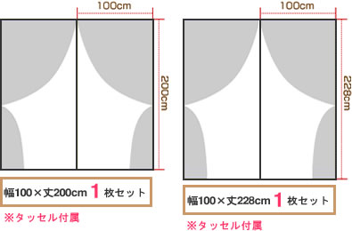 各サイズから大きさを表す簡易イメージ画像2