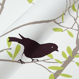 北欧風のスミノエ 遮光カーテン ミキニコトリの詳細画像1
