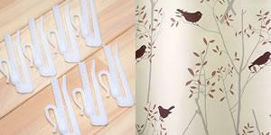 北欧風のスミノエ 遮光カーテン ミキニコトリの付属品写真1