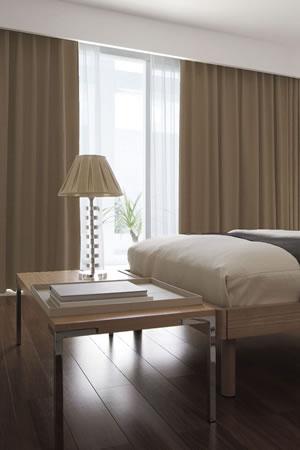 スミノエの遮光カーテン セーラ使用画像