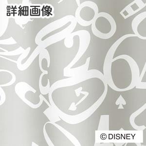 スミノエのディズニー レースカーテン アリス クロック 1枚入【おしゃれ/北欧】ホワイトの詳細画像