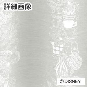 スミノエのディズニー レースカーテン アリス ティーカップ 1枚入【おしゃれ/北欧】ホワイトの詳細画像