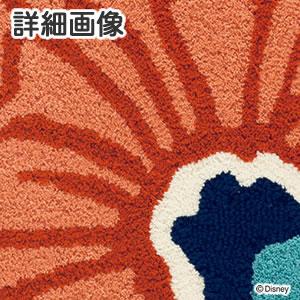 ディズニー ラグマット アリス フラワー&クロックラグ【おしゃれ/北欧】の詳細画像
