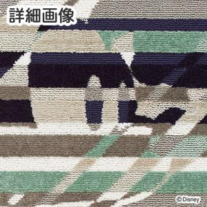 ディズニー ラグマット ミッキー クロスカッティングラグ【おしゃれ/北欧】の詳細画像