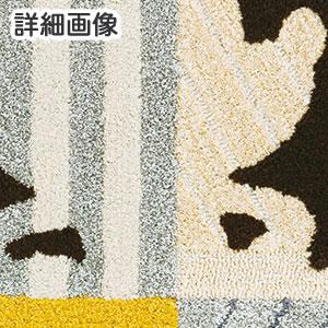 ディズニー ラグマット ミッキー/ミニー モデルフレームラグ【おしゃれ】ミニーの詳細画像