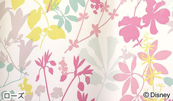 ディズニー 遮光カーテン ミッキー カーニバル 1枚入【おしゃれ/北欧】ローズの詳細画像