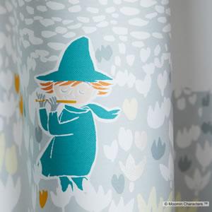 遮光カーテン ムーミン ソフトメロディー 1枚入【北欧/フィンランド】ブルーの詳細画像