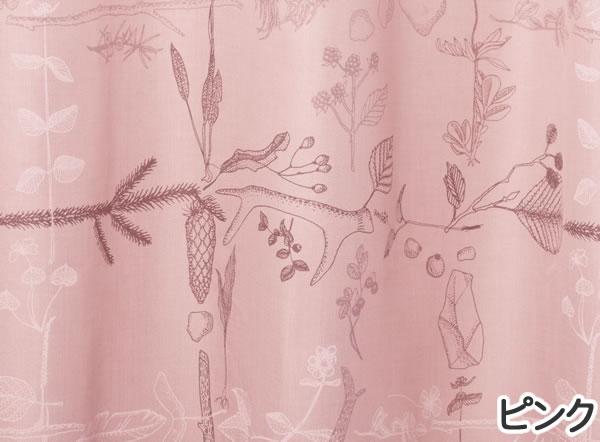 サーナ・ヤ・オッリ カーテン アフター ザ ストーム 1枚入【北欧デザイン】ピンクの詳細画像