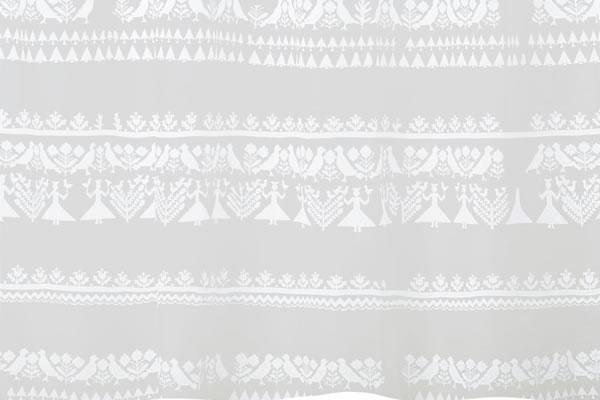 サーナ・ヤ・オッリ レースカーテン ナイト イン ザ フォレスト ボイル 1枚入【北欧デザイン】の詳細画像