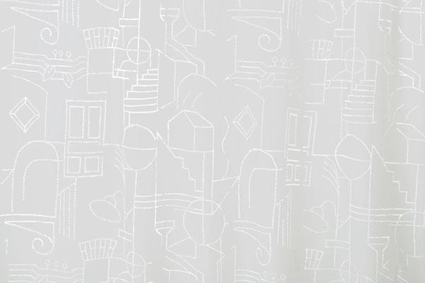 サーナ・ヤ・オッリ レースカーテン ハウス オブ ドリーミング ボイル 1枚入【北欧デザイン】の詳細画像