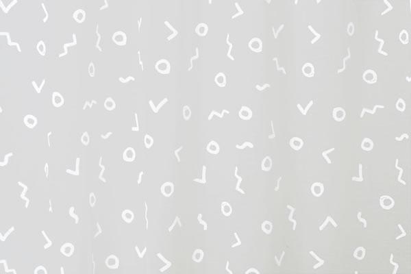 サーナ・ヤ・オッリ レースカーテン トライバル ボイル 1枚入【北欧デザイン】の詳細画像