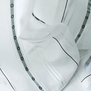 レースカーテン キギ U-8157 1枚入【おしゃれ/UV/省エネ】の詳細画像