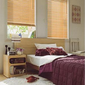 タチカワ 木製ブラインド ナチュラル色の使用画像