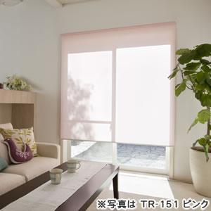 タチカワ ロールスクリーン ティオリオ TR-151 ピンクの使用画像