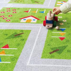 東リ ファブリックフロア キッズロード パネルカーペット【タイルカーペット】の詳細画像