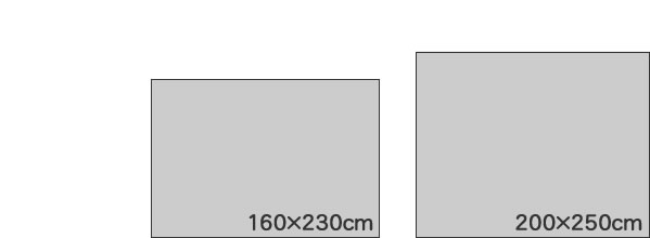 東リ ラグマット TOR3903【おしゃれ/ヴィンテージ】のサイズイメージ画像