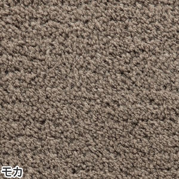東リ サイズオーダーラグ ベーシックウール 15mm【縦×横/各1.0m〜1cm単位で指定】モカの全体画像