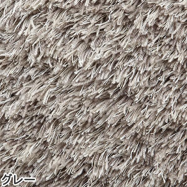 東リ サイズオーダーラグ リネンフレイバー【縦×横/各1.0m〜1cm単位で指定】グレーの全体画像