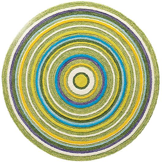 東リ ラグマット TOR3403【おしゃれ/円形】の全体画像