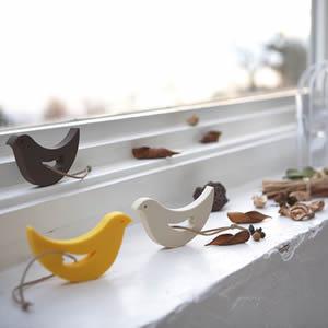 ドアストッパー エッフェル 鳥のディスプレイ画像