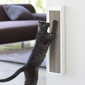 猫の爪とぎケース タワー【ペット用品/インテリア収納】ホワイトの画像