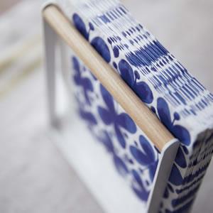 ペーパーナプキンホルダー トスカ【キッチン収納/おしゃれ】ホワイトの使用画像