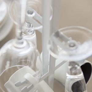 ワイングラス&マグカップツリー タワー(tower)【キッチン収納/おしゃれ】ホワイトのグラス置き詳細画像