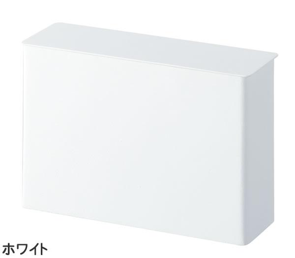 コーヒーペーパーフィルターケース タワー【キッチン収納/おしゃれ】ホワイトの全体画像