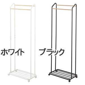 ハンガーラック タワー キャスター付き【収納/おしゃれ】のカラーバリエーション画像