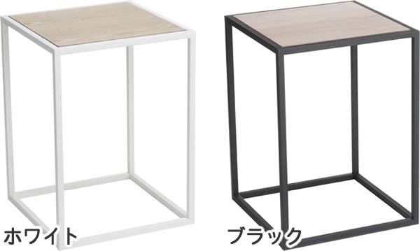 サイドテーブル スクエア タワー【リビング/ソファ】のカラーバリエーション画像
